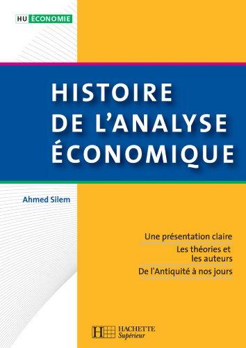 Histoire de l'analyse économique (HU Économi...