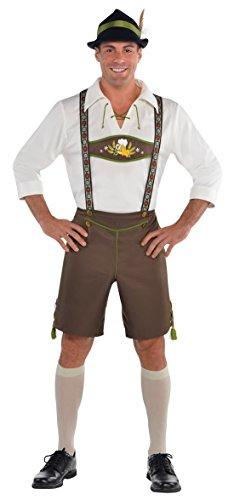 ostüm Set Oktoberfest, Wiesn, Beige, Größe M (Männlichen Oktoberfest Kostüme)