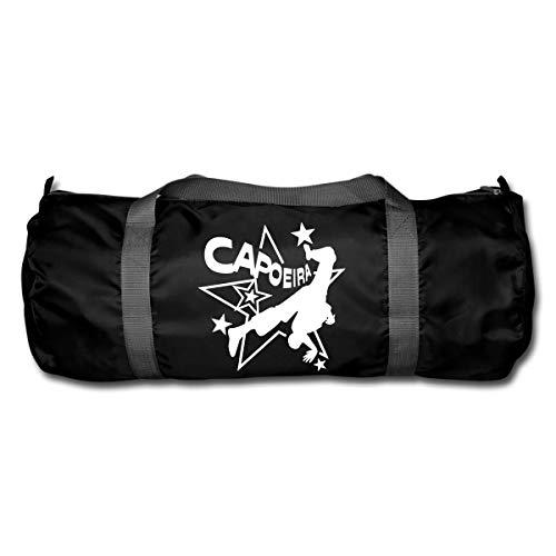 Capoeira Sterne Sporttasche, Schwarz