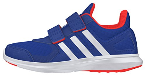 Adidas Unisex-Kinder HYPERFAST 2.0 CF K Laufschuhe, Blau (Blau/Weiß/Rot), 29 EU