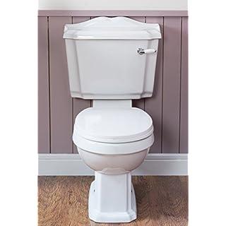 WC Toilette Wand Stand WC + WC Sitz + Aufputz Spülkasten