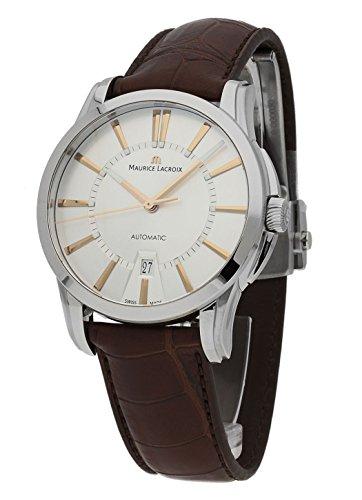 Maurice Lacroix Pontos-Reloj de pulsera Fecha Automático pt6148de SS001-131-2
