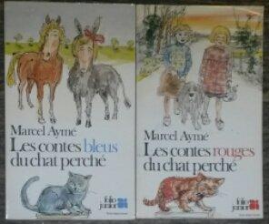 Les contes bleus du chat perché/ Les contes rouges du chat perché.