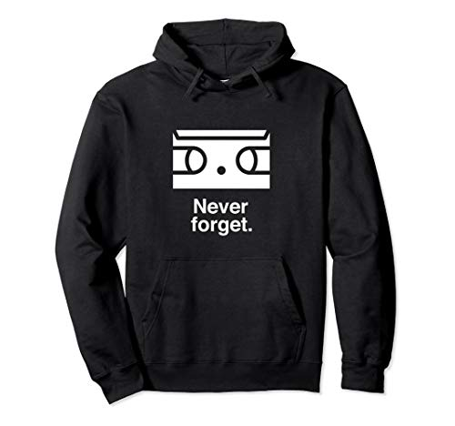 Pay Tribute to Cassettes Retro Vintage Geek Nerd Pullover Hoodie -