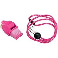 FOX40 Sonik CMG Safety - Silbato de árbitro/entrenador y correa de seguridad rosa rose fluo Talla:talla única