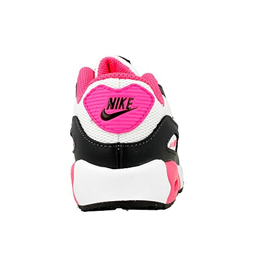 Nike Air Max 90 Mesh (Td), Chaussures de Football Bébé Garçon Noir (Anthracite / Blanc-Hyper Rose)