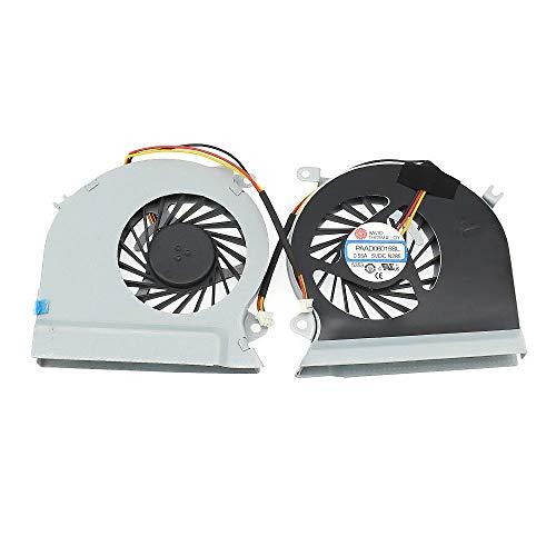 PAAD06015SL Laptop CPU Cooling Fan For GE60 16GA 16GC Series Notebook Cooler 0.55A 3Pin