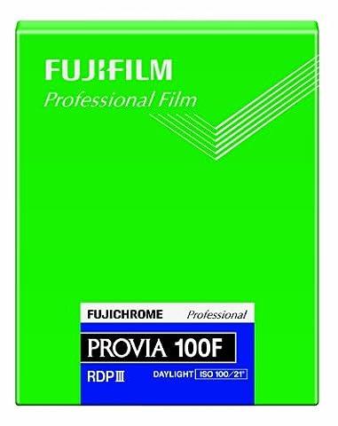 Fujifilm 4 x 5-Inch Provia 100F Color Reversal