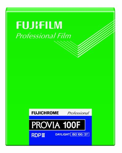 Fujifilm 16326133 Provia 100F Dia-Farbfilm 4x5 -