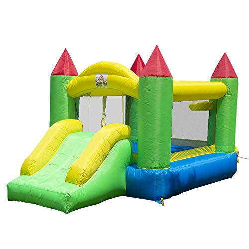 HOMCOM Kids Bouncy Castle Inflat...