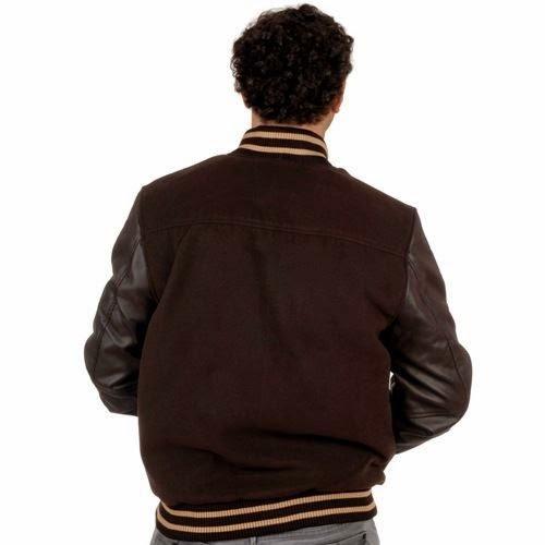 SRK-Giacca Teddy bi-materiale uomo CORTED- marrone-S marrone