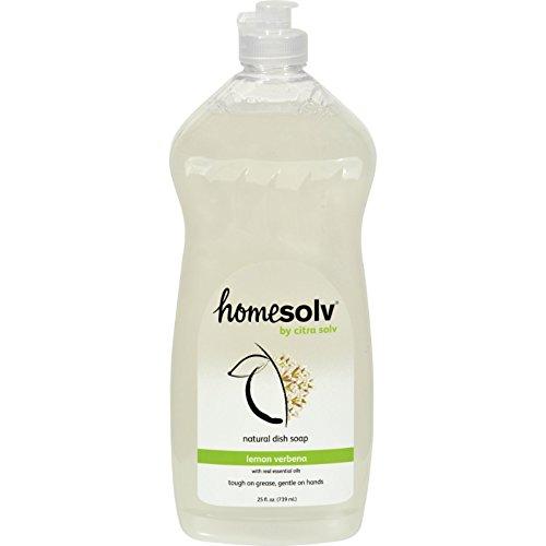 Citra Solv Hand Dish Liquid Lemon Verbena 25oz/739ml - Lemon Verbena Liquid