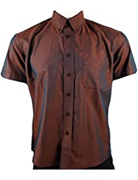 Warrior Higson Slim Fit Copper 2Tone Tonic Short Sleeve MOD Skin Shirt S - 4XL