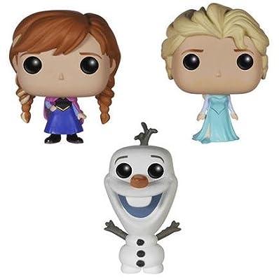 Frozen Elsa, Anna, Olaf 01 Figura de colección