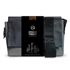 Idea Regalo - Axe - Cofanetto regalo con eau de toilette, deodorante e gel doccia da uomo + tracolla