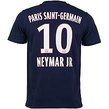 PSG Camiseta para hombre, colección oficial del Paris Saint Germain, diseño de Neymar Junior, talla de adulto, Hombre, azul, XXL