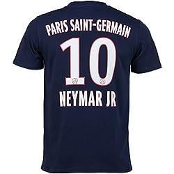 T-Shirt Paris Saint-Germain Neymar Jr, offizielle Kollektion, Erwachsenengröße, für Herren M blau