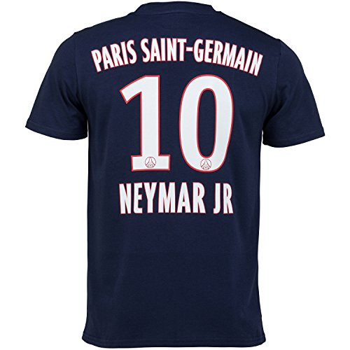 T-shirt PSG - NEYMAR Jr - Collection officielle PARIS SAINT GERMAIN -  Taille adulte 2b266e2cef9a6