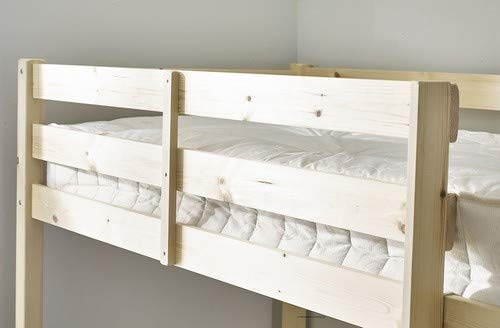 Strictly Beds and Bunks Limited Small Double 4ft HIGH Loft bunkbed - wooden High Sleeper - EXTRA wide base slats - Can be used by adults