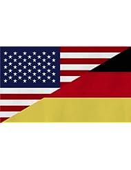 Flagge Großformat 250 x 150 cm wetterfest Fahne in 18 verschiedenen Ausführungen mit ösen