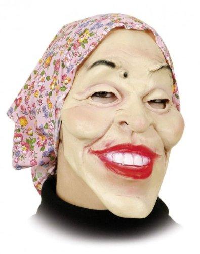 au mit rosa Kopftuch, Latex, für Erwachsene ()