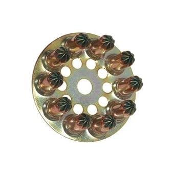 Spit - Disque de charge avec poudre jaune pour cloueur p 60 / p 200 -