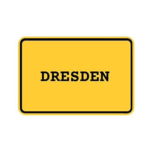 Preisvergleich Produktbild JOllify Aufkleber - DRESDEN – Farbe: Design: Ortsschild