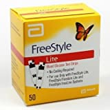 FreeStyle Lite Testing Strips 1x50 Brand New Sealed