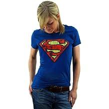 supergirl t-shirt damen
