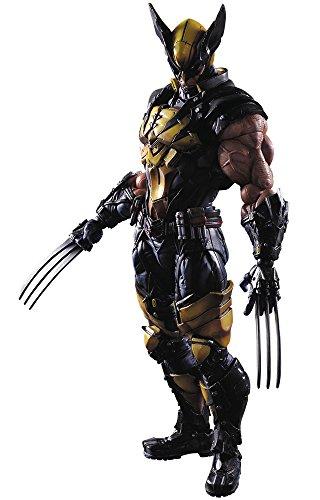 151Universe Variant Play Arts Kai Wolverine Action-Figur (Adamantium Krallen Kostüm)