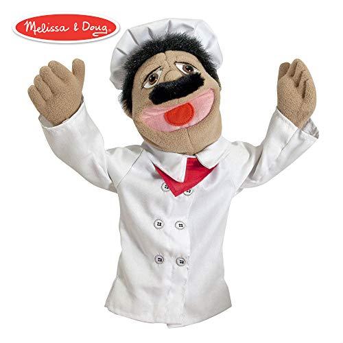 Melissa & Doug Chefkoch-Puppe (Doug Puppen Melissa)