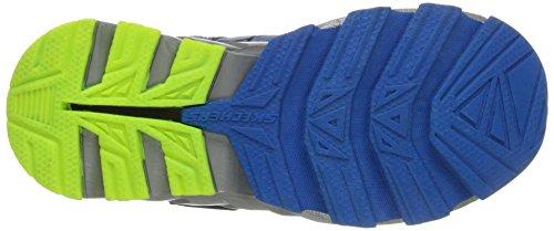 Skechers Mega Blade-Boque Textile Turnschuhe Royal/Yellow