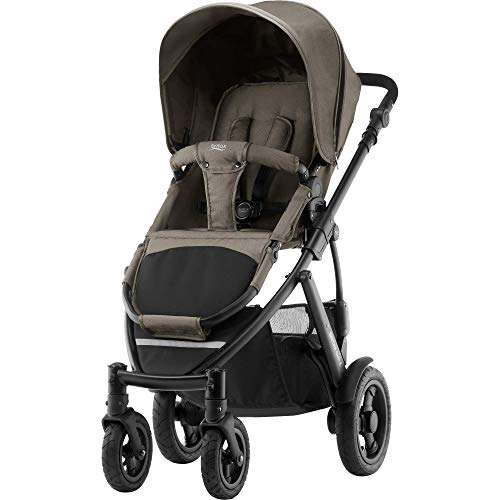 Britax SMILE 2 Kinderwagen, Kollektion 2019, Khaki Denim -