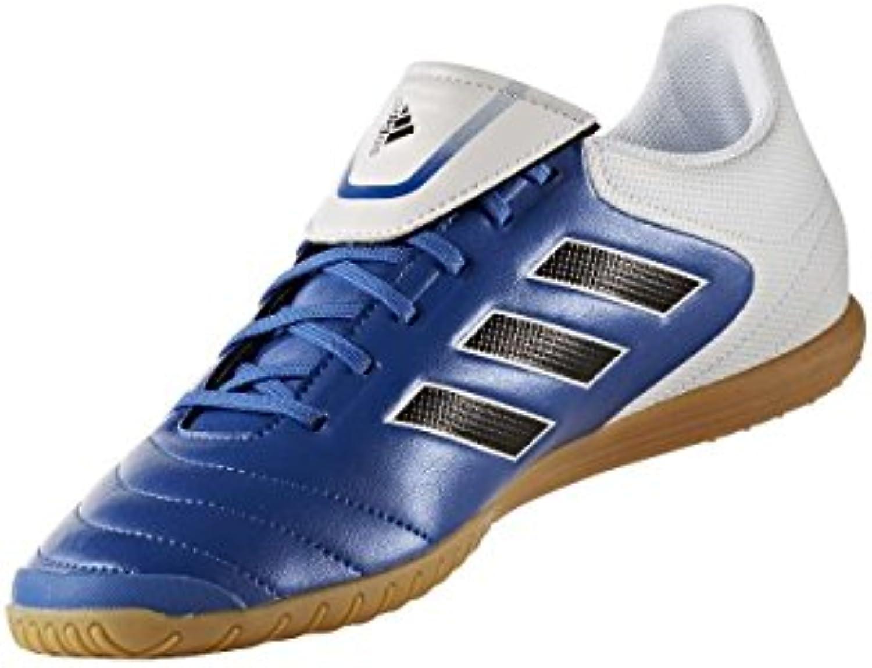 adidas COPA 17.4 IN - Botas de fútbol para Hombre, Azul - (AZUL/FTWBLA/NEGBAS) 42