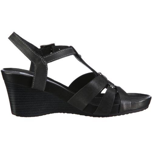 Geox Donna Rorie D1196Z00043C6000, Damen, Sandalen/Fashion-Sandalen Schwarz/Black