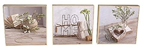 Toiles 3 images Home ZEN 60x20x3 cm (set 3