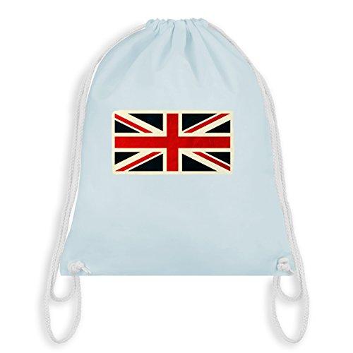 Länder - Flagge Großbritannien - Unisize - Pastell Blau - WM110 - Turnbeutel & Gym Bag