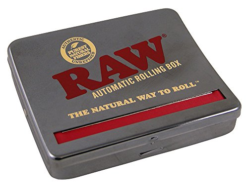 Unbekannt RAW Automatic Rolling Box 110-Fits King Size, Metall, Silber, S
