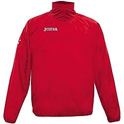 Joma Wind - Chubasquero para Hombre, Color Rojo, Talla XL