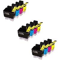 Prestige Cartridge LC900 / LC950 12 Cartucce d'Inchiostro Compatibile per