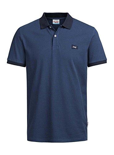 Jack & Jones Herren Poloshirt Blau
