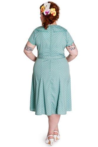 Ligne bunny robe robe iNGRID 4326 Vert - Vert