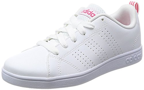 cheap for discount 8260a abb12 adidas Unisex-Kinder Vs Advantage Cl K Laufschuhe, Weiß (Ftwr WhiteFtwr