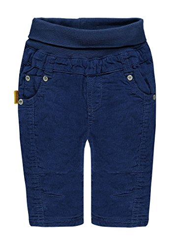 Steiff Jungen Hose Kord, Blau (Blue Depths 3122), 68 (Im Baumwolle Five-pocket-cordhose)