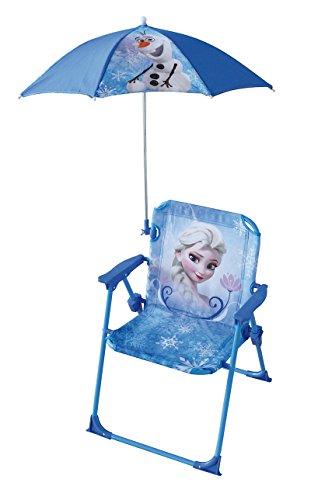 Fun House Eiskönigin Stuhl mit Sonnenschirm