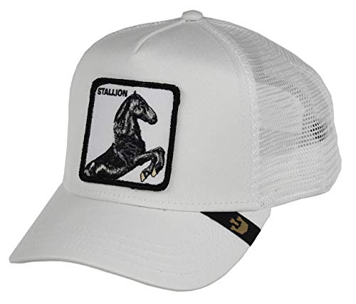 Goorin Bros Trucker Cap Stallion/Pferd White - One-Size