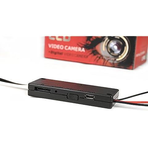 Mini Full HD cámara IP con detección de movimiento y de memoria microSD/Mini Wifi Vigilancia/acceso Via PC, Smartphone y Tablet/iPhone/iPad,