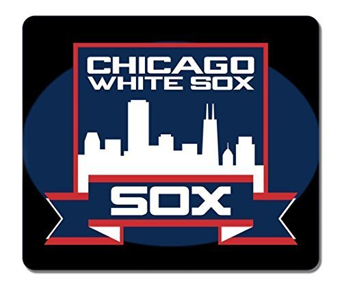 General Rectangle Non-Slip Rubber Large Mousepad Chicago White Sox Old Logo Gaming Mouse Pad Large Mousepad Customized Gaming Pad Large Mouse Pads White Sox Video