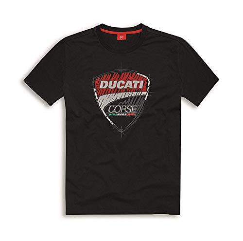 Ducati Corse T-Shirt Sketch schwarz Größe L -