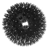 #1: Super Dog Spiked Rubber Dog Ball (Color May Vary)